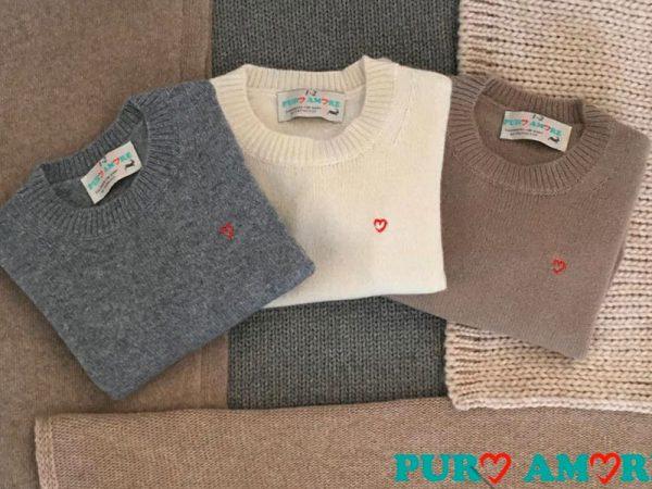 Maglione in cashmere per bambino