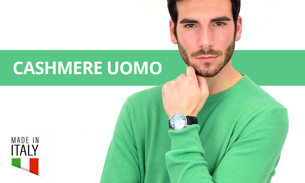 Cashmere Uomo Made in Italy