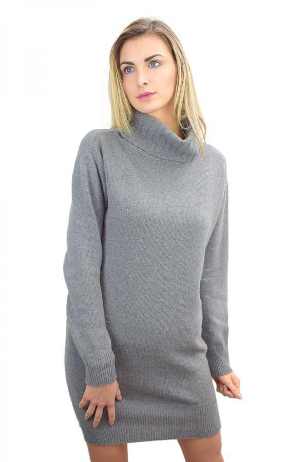 Vestito donna in Eco Cashmere - Grigio
